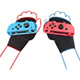 LeyuSmart Wrist Strap for Just Dance 2021 2020 2019, Armband Compatible with Nintendo Switch Dancing Game Accessories, Kids S