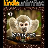 Safari Readers: Monkeys (Safari Readers - Wildlife Books for Kids Book 15)