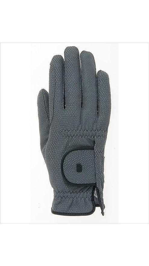 Roeckl Roeck-Grip Unisex Gloves 6.5 Anthracite