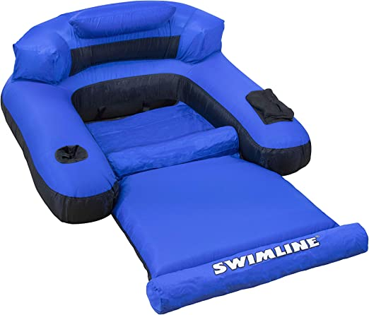 Amazon Com Swimline Floating Lounge Chair Toys Games