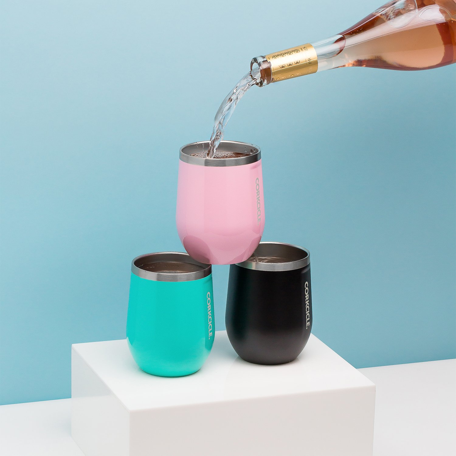 Corkcicle 12 oz Triple-Insulated Stemless Glass (Perfect for Wine) - Unicorn Magic by Corkcicle (Image #4)