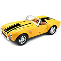 Maisto 1:24 Scale 1965 Shelby Cobra 427 Diecast Vehicle (Colors May Vary)