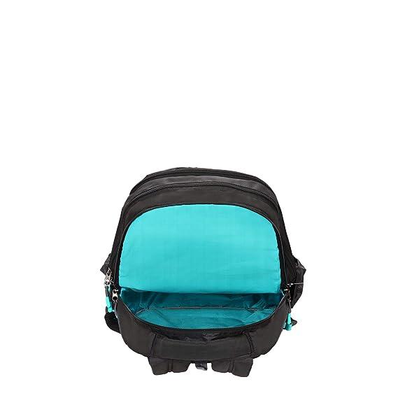 Lavie Sport 28 Ltrs Black School Backpack (BDEI322019M3)