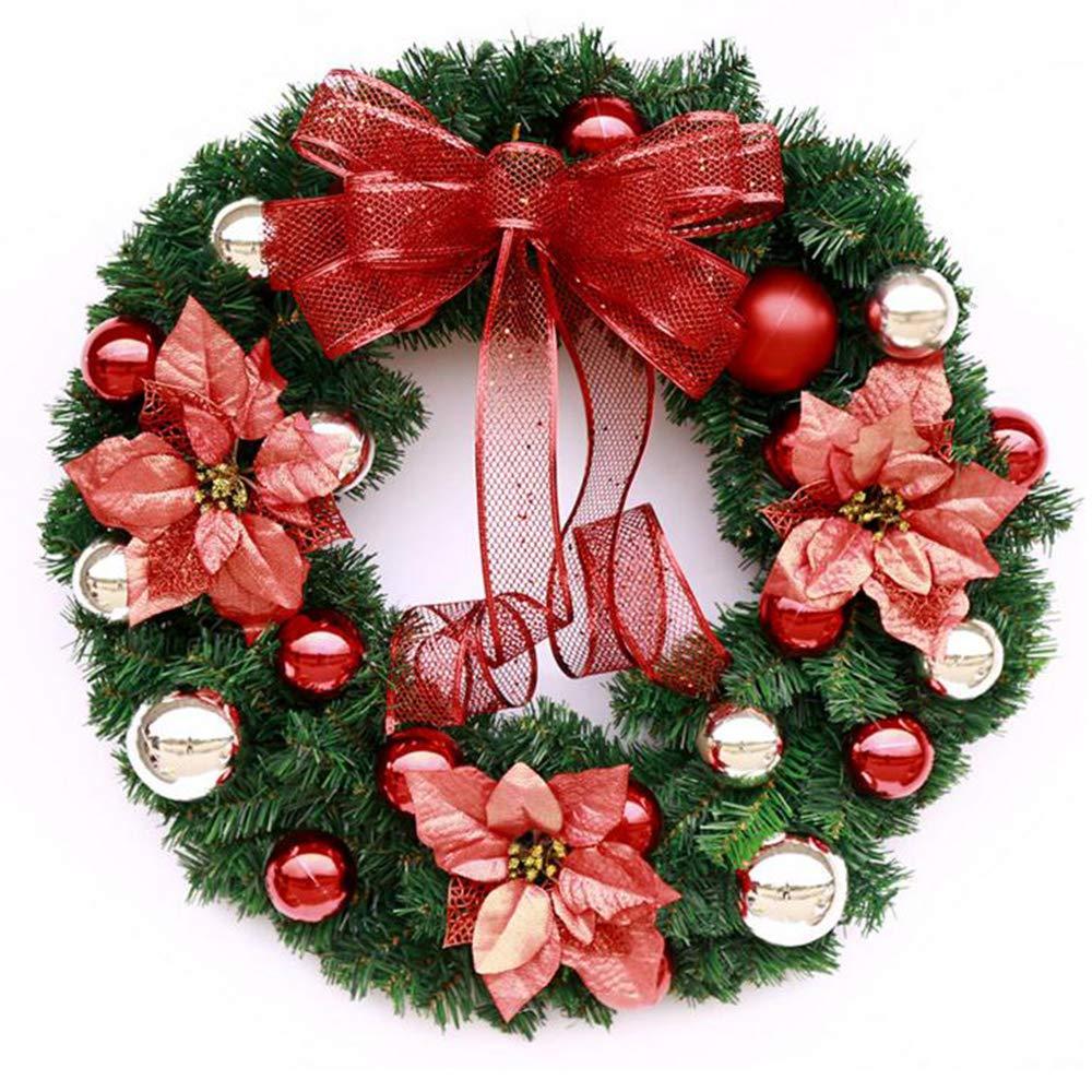 Christmas Front Door Wreath,Christmas Wreath,Holiday Wreath,Winter Christmas Wreath,Christmas Ornament,Year Round Wreath