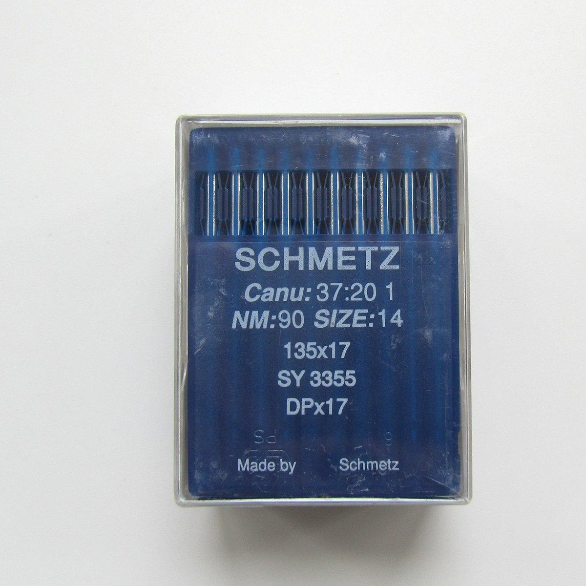 50 SCHMETZ 24 135X17 DPX17 SY3355 INDUSTRIAL SEWING MACHINE NEEDLES WALKING FOOT