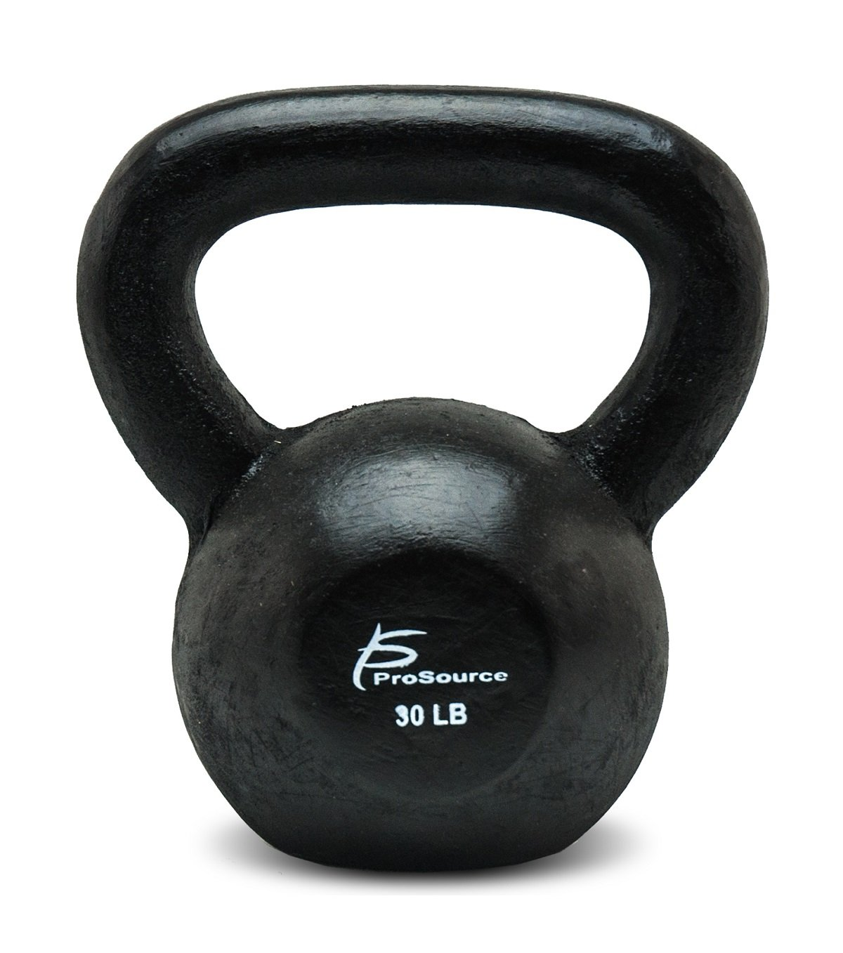 ProSource Solid Cast Iron Kettlebells Weights for Full Body Workout, 5 to 45 pounds 10 pounds ProSource Discounts Inc ps-1129-kettle-iron-10