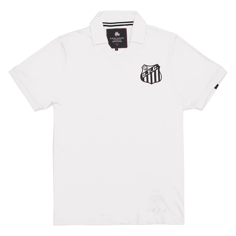 Coolligan - Polo de Fútbol Retro 1958 Pelé - Color - Blanco ...