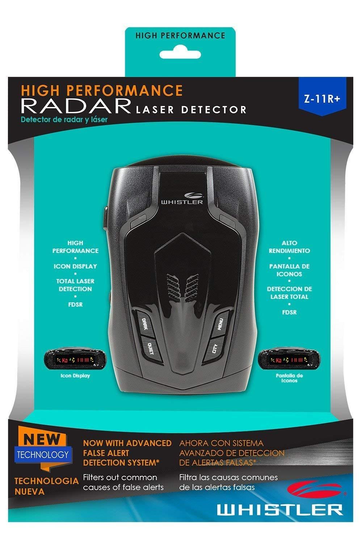 High Performance Radar Laser Detector Z-11R+