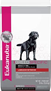 Eukanuba Breed Specific Labrador Retriever Dry Dog Food, 30 lb
