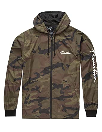 c447bc9e3d28a Primitive Arch Camo Windbreaker Jacket at Amazon Men's Clothing store: