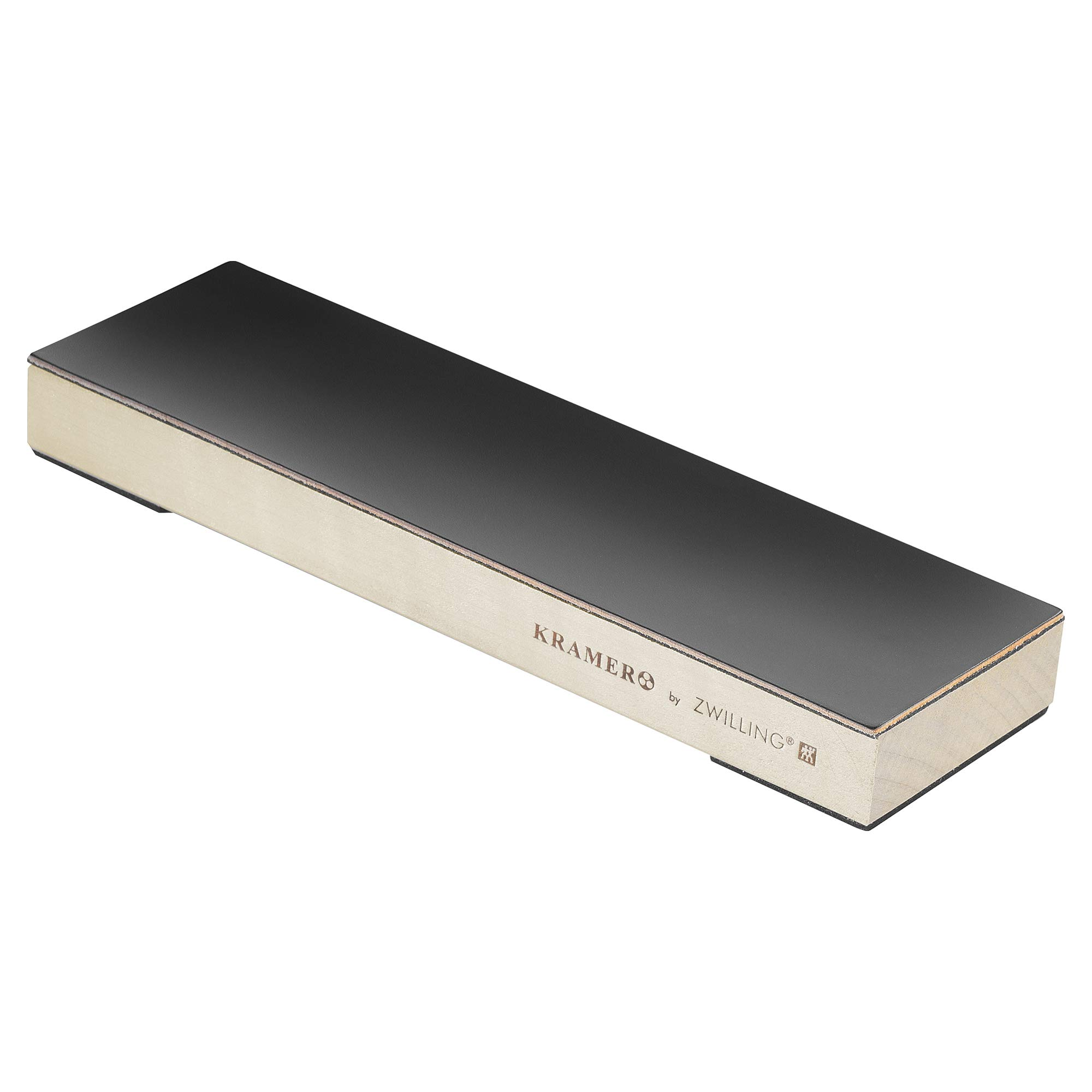 KRAMER by ZWILLING 34999-103 Hardwood Stropping Block with Leather