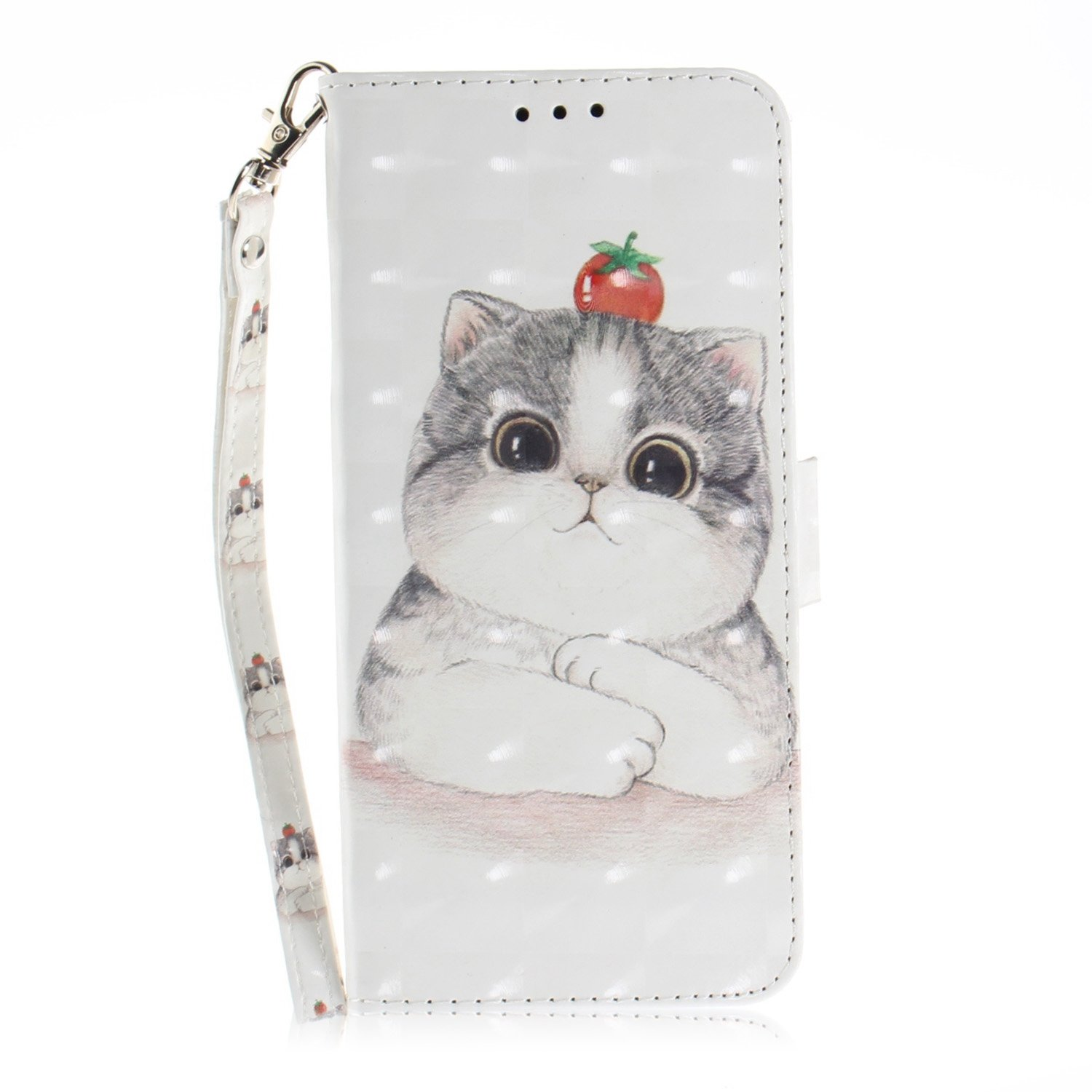 Custodia Xiaomi Redmi Note 5, Cover Xiaomi Redmi Note 5 Pro Flip PU, Okssud Xiaomi Redmi Note 5 Custodia Portafoglio, Moda Creative Design Wallet Leather Copertura Card Slot Stand Chiusura Magnetico Cover Pittura Colorata Acoiattolo Pattern Design Case Ant