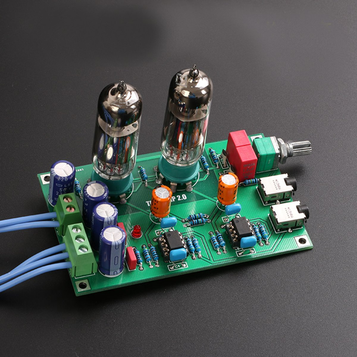 Amazon.com: ILS - DIY Class A 6J5 Vacuum Tube Preamp Preamplifier HIFI Headphone Amplifier Kit: Industrial & Scientific