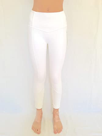 4598fbbeb Lululemon All The Right Places Crop II WHT White (6). Roll over image to  zoom in