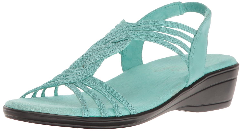 Easy Street Women's Natara Flat Sandal B01N585NP2 12 W US|Turquoise
