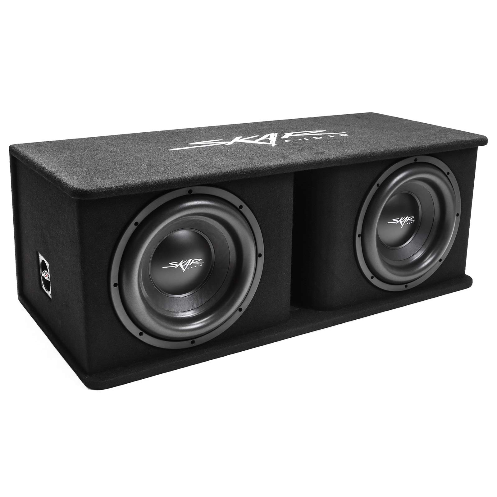 Skar Audio Dual 12'' 2400W Loaded SDR Series Vented Subwoofer Enclosure | SDR-2X12D4 by Skar Audio