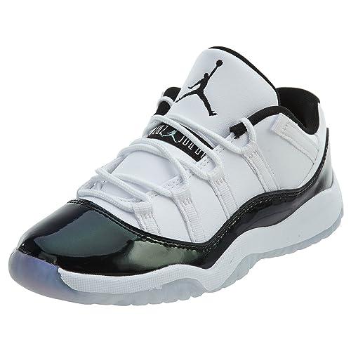 4e36245cd2 Nike Jordan Kids' Preschool Air Jordan 11 Retro Low Basketball Shoes