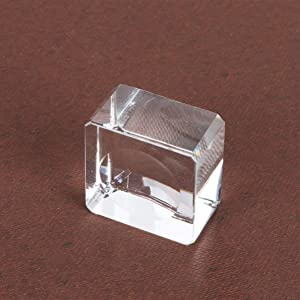 VOSAREA Crystal Ball Stand, Ball Model Holder, Glass Ball Base Stand, with Camber Concave for Display 3cm/1.2inch
