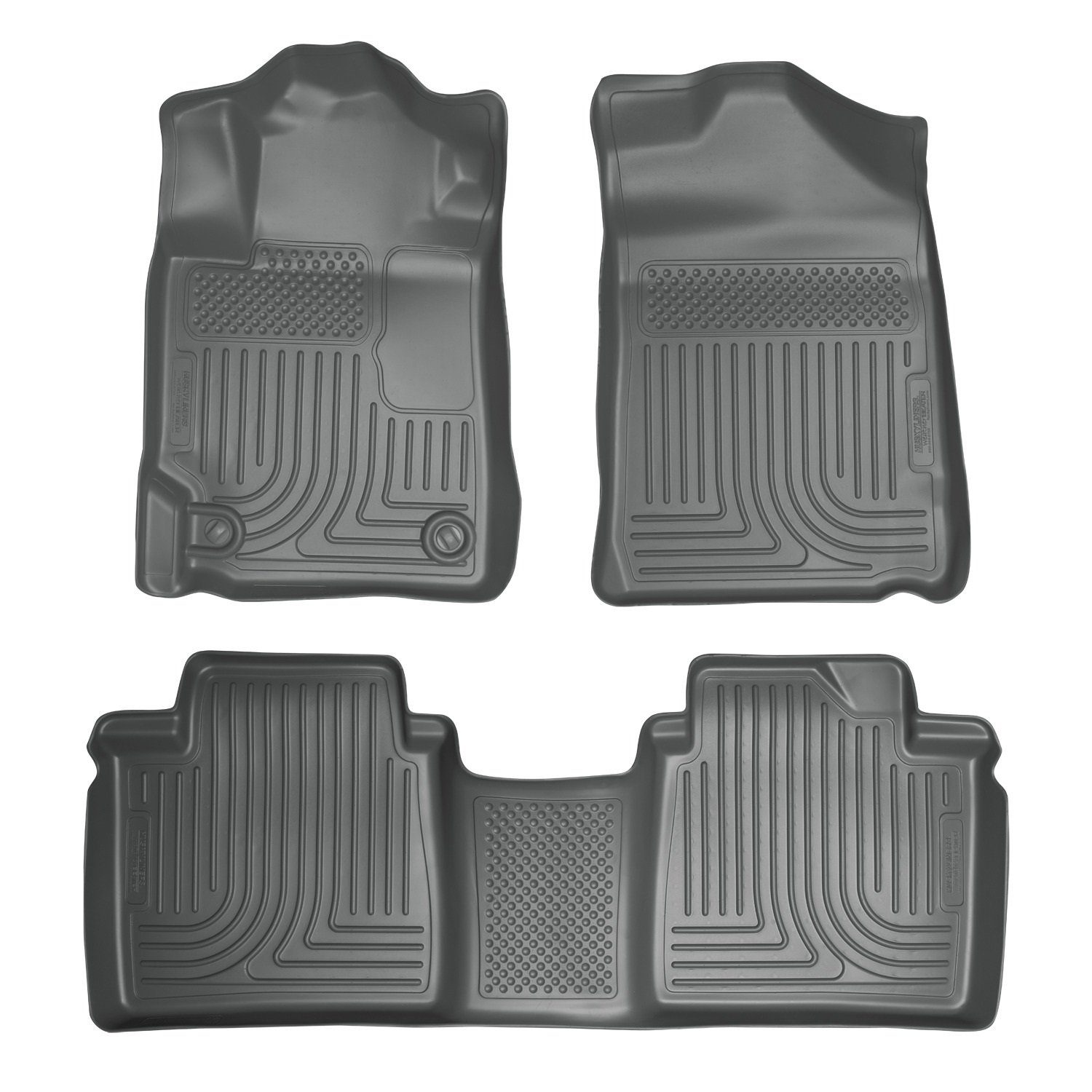 Amazon Husky Liners Front 2nd Seat Floor Liners Footwell