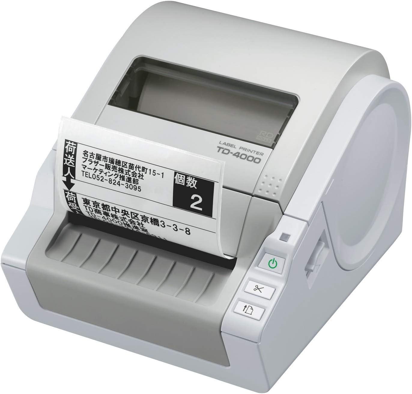 Brother TD-4000 - Impresora monocromática térmica: Brother: Amazon ...