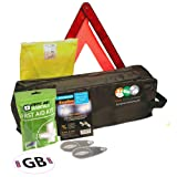 European Travel Kit for Driving Abroad Quality Ultimate Safety Abroad European Travel Essentials Storage Bag & Emergency Roadside Breakdown