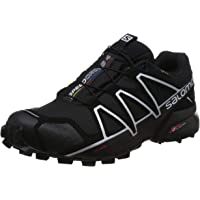 SALOMON Men's Speedcross 4 GTX Athletic Shoe, Black