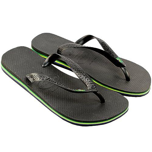 faad82e5e Havaianas MENS FLIP FLOPS ORIGINAL BOXED BRASIL BRAZIL SUMMER SANDALS NEW  6-10  Amazon.co.uk  Shoes   Bags