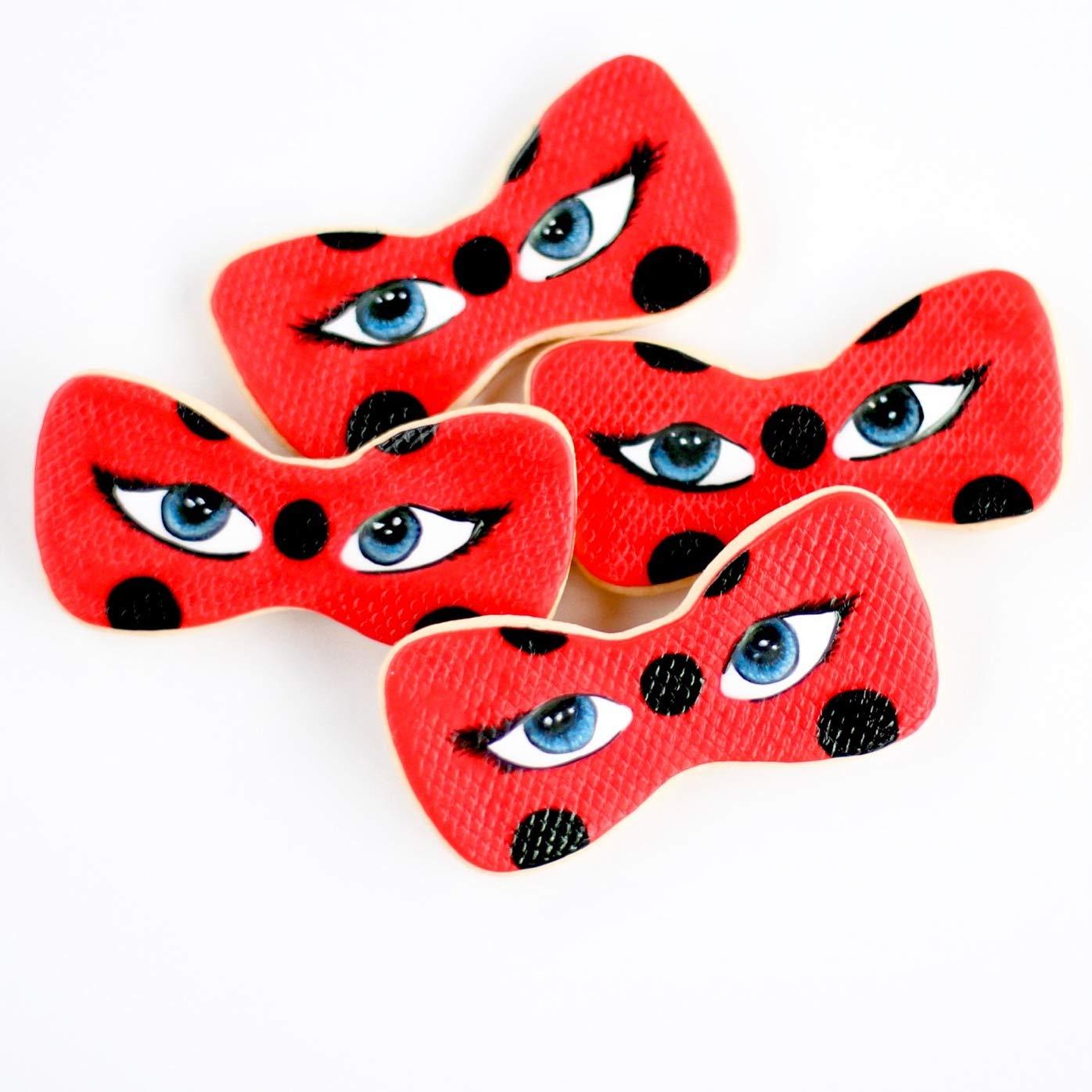 1 1/2 Dz. Miraculous LadyBug Cookies! ¡El SuperHero de ...