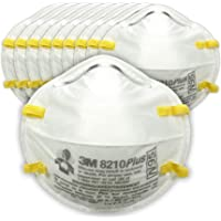 10-Pack 3M N95 Particulate Respirator 8210PlusPro
