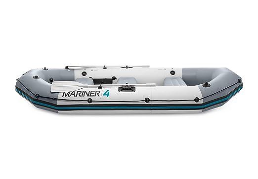 Intex 68376NP - Barca Hinchable Mariner 4 con 2 Remos 328 x 145 x 48 cm