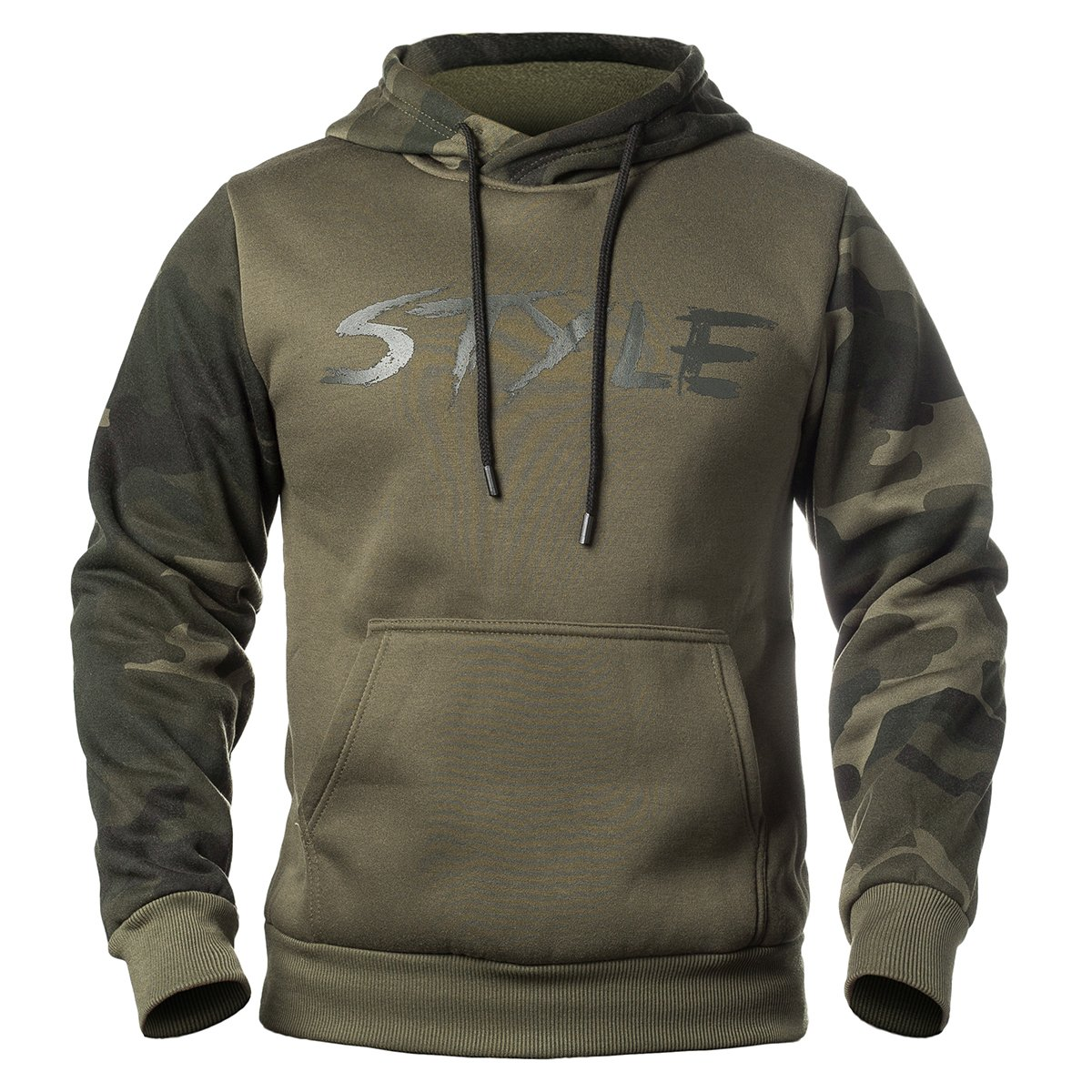 ReFire Gear Mens Lightweight Camouflage Pullover Fleece Hoodie Casual Drawstring Hooded Sweatshirt