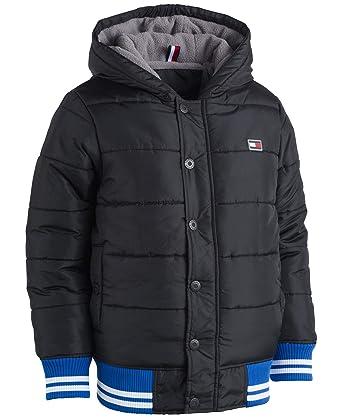 8d626808fba9 Amazon.com  Tommy Hilfiger Baby Boys Kramer Puffy Coat Puffer  Clothing
