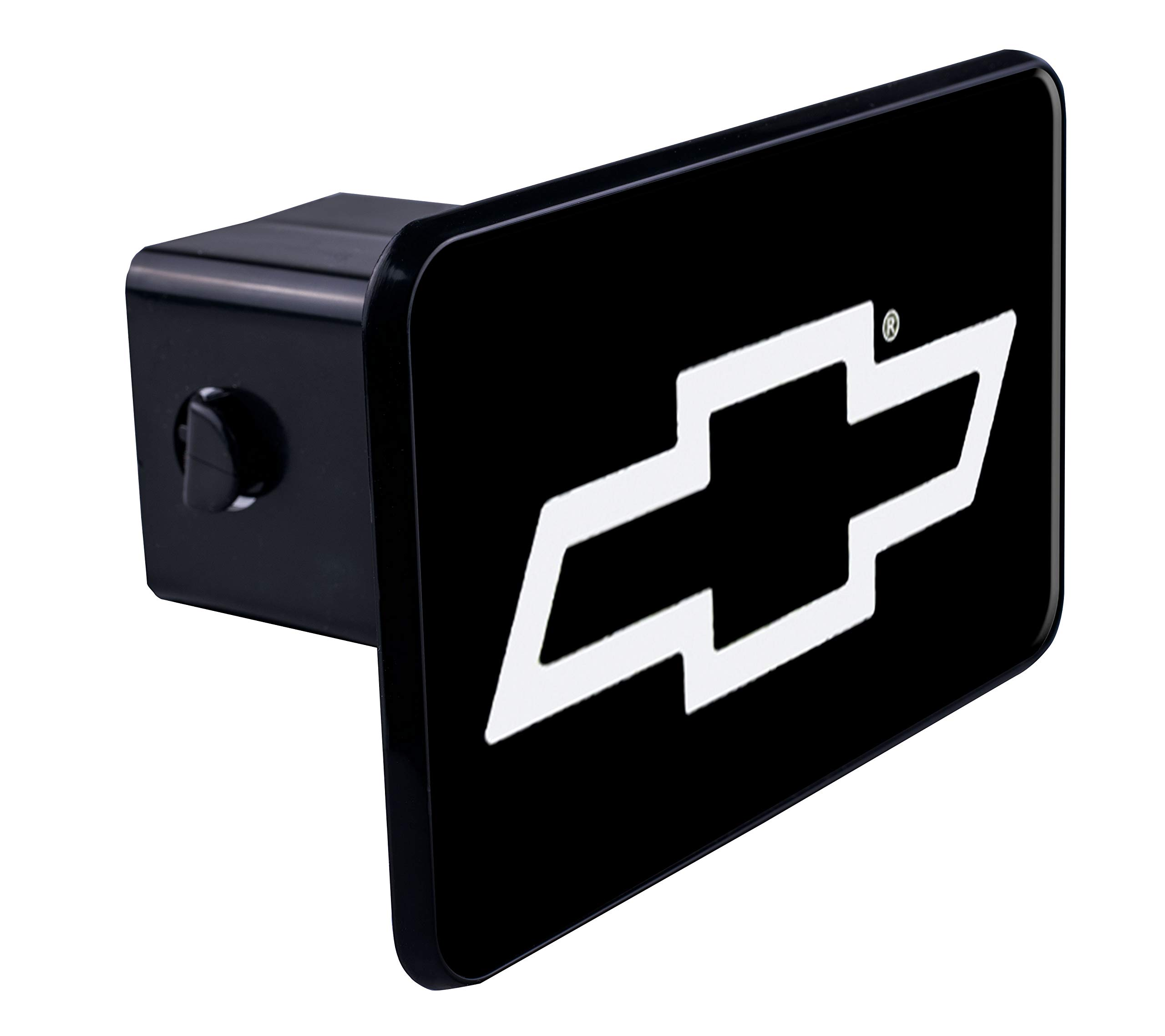 Truck and SUV Accessories CR007C CR-007C Chevrolet Tow Hitch Cover//Receiver Trailer Plug in Black with LED Brake Light Chevrolet Logo Emblem Car 2 inch Bully Genuine License Products