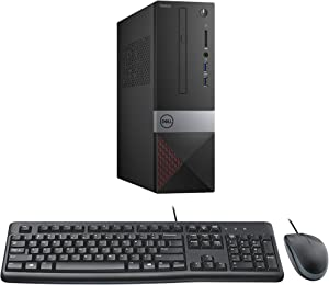Dell Vostro 3471 SFF Desktop Bundle with Intel Core i5-9400, 8GB DDR4, 256GB M.2 SSD, Intel UHD Graphics 630, Windows 10 Pro, Keyboard and Mouse