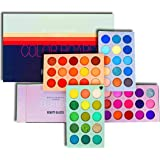 Eyeshadow Palette 60 Colors Mattes and Shimmers High Pigmented Color Board Palette Long Lasting Makeup Palette Blendable Prof