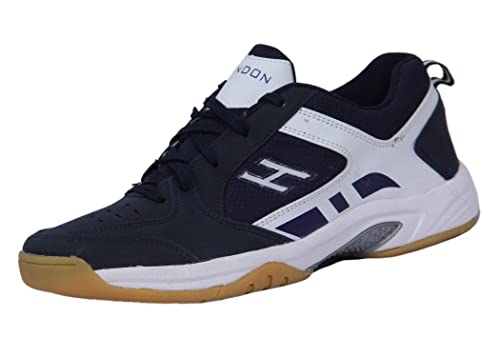 Buy HINDON Navy Blue/White Tennis Shoes