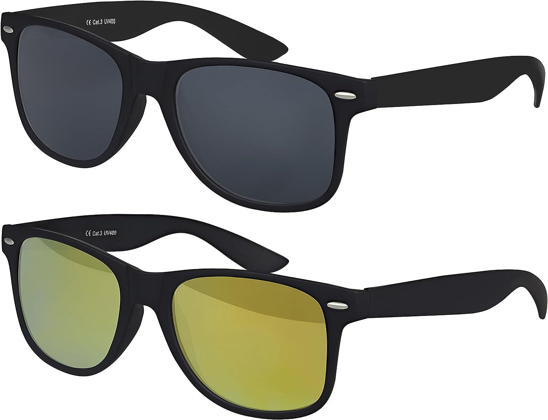 Damen Sonnenbrille Brille Blau UV 400 Modell 52 NEU !! Style Moderne Herren