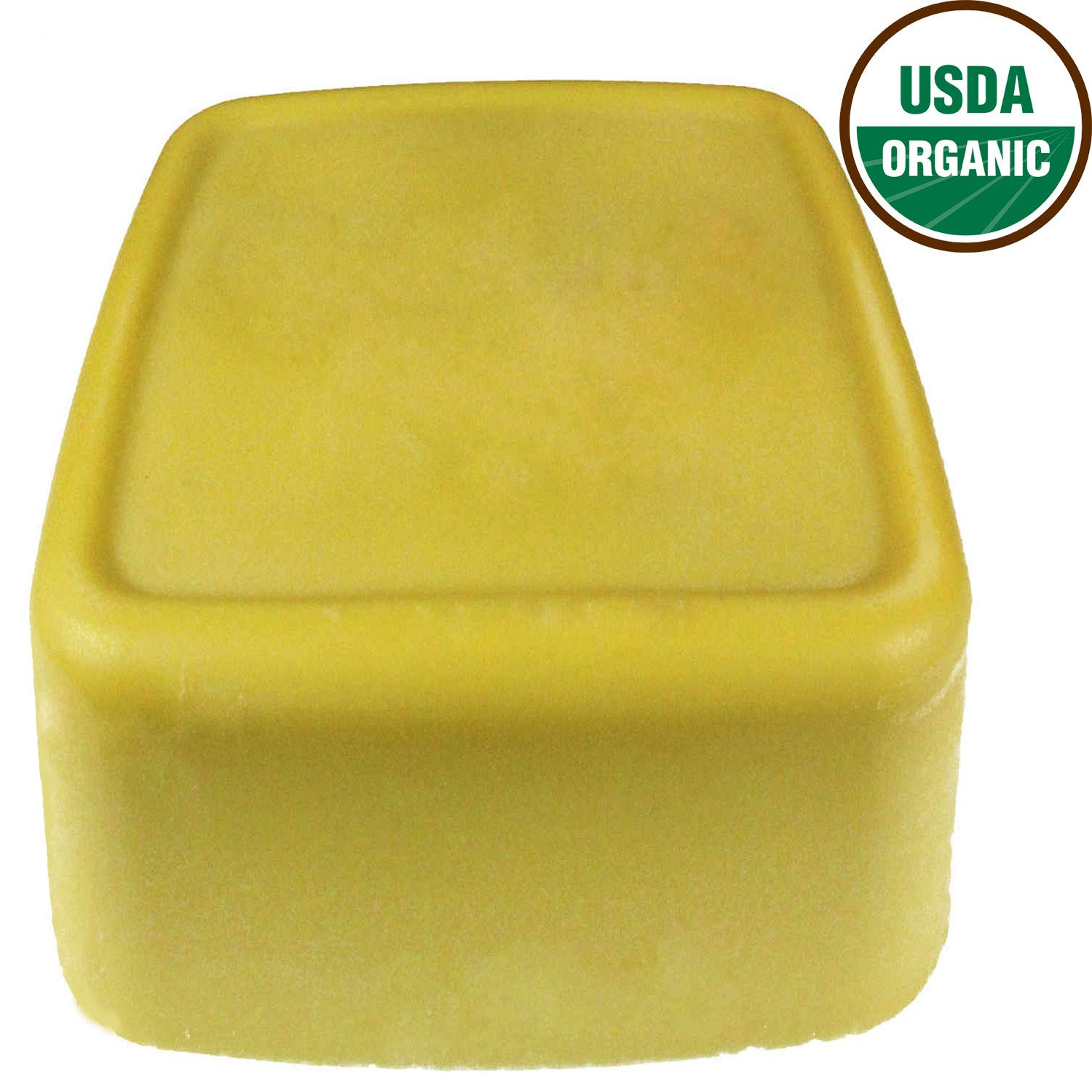 Organic Cocoa Butter 22 lb, USDA Certified Organic by Mary Tylor Naturals, Premium Grade Raw Unrefined Un Deodorized Dominican Cacao Butter, Amazing Skin Nourishment, Great for Stretch Marks DIY