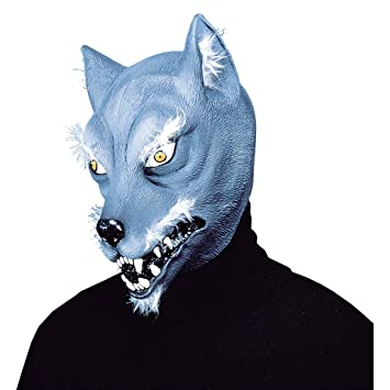 Máscara de hombre lobo careta animal