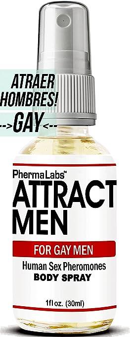Gay Feromonas Body Spray para Hombre - 1 oz - Atraer Hombres instantáneamente- Mayor Concentración