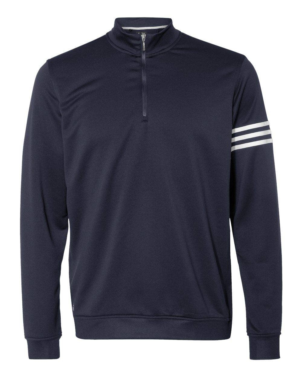 Adidas Mens ClimaLite 3-Stripes Pullover A190 -Navy/ White 4XL by adidas