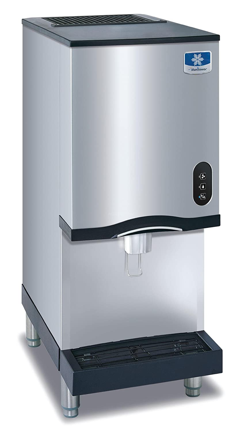 Pebble Ice Machine Amazoncom Manitowoc Rns 12a Countertop Nugget Ice Maker And
