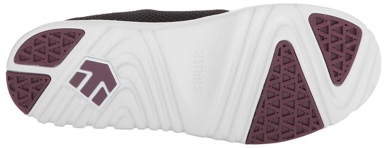 Etnies Women's Scout W's Skate Shoe B074PW2VJ2 9 B(M) US|Black/White/Burgundy