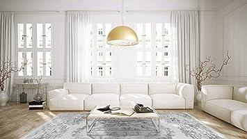 One Couture Classique Aubusson Design Tapis Tapis Gris Salon Moderne
