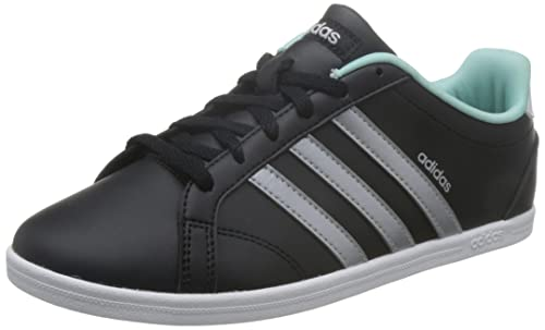 online retailer 4f9d6 7715f adidas VS Coneo QT W BB9647 Footwear Black Womens Trainers Sneaker Shoes  Size EU 36