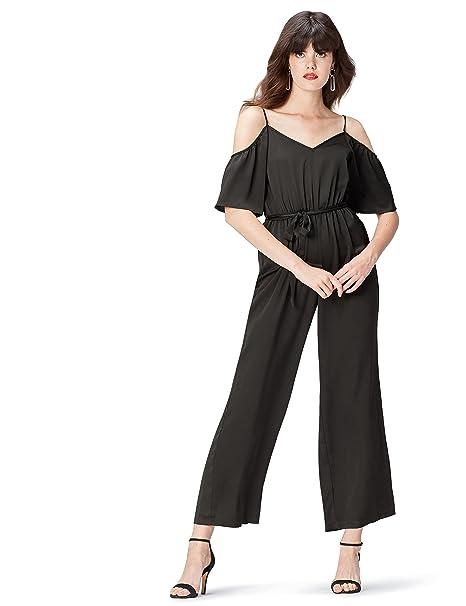 dc38d0d027be find. Maxi Tuta con Spalle Scoperte Donna: Amazon.it: Abbigliamento