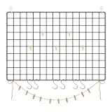 "SONGMICS Grid Photo Wall, Set of 2, 25.6"" x"