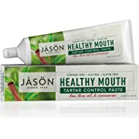 Jason Healthy Mouth Antiplaque & Tartar Control Paste - Tea Tree Oil & Cinnamon 4 Oz, 4 ounces