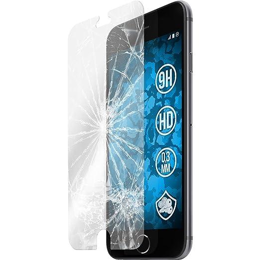 104 opinioni per 1 x Apple iPhone 6s / 6 Pellicola Protettiva Vetro Temperato chiaro- PhoneNatic