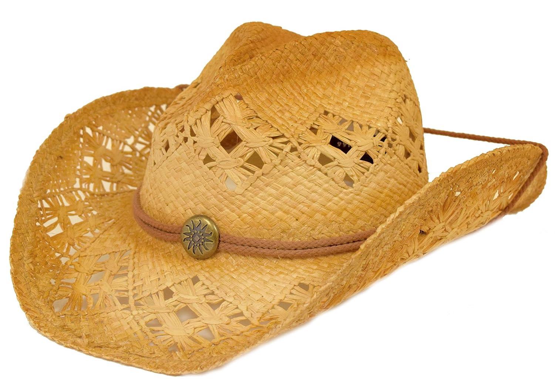 Fancy Raffia Western Hat Great Deals
